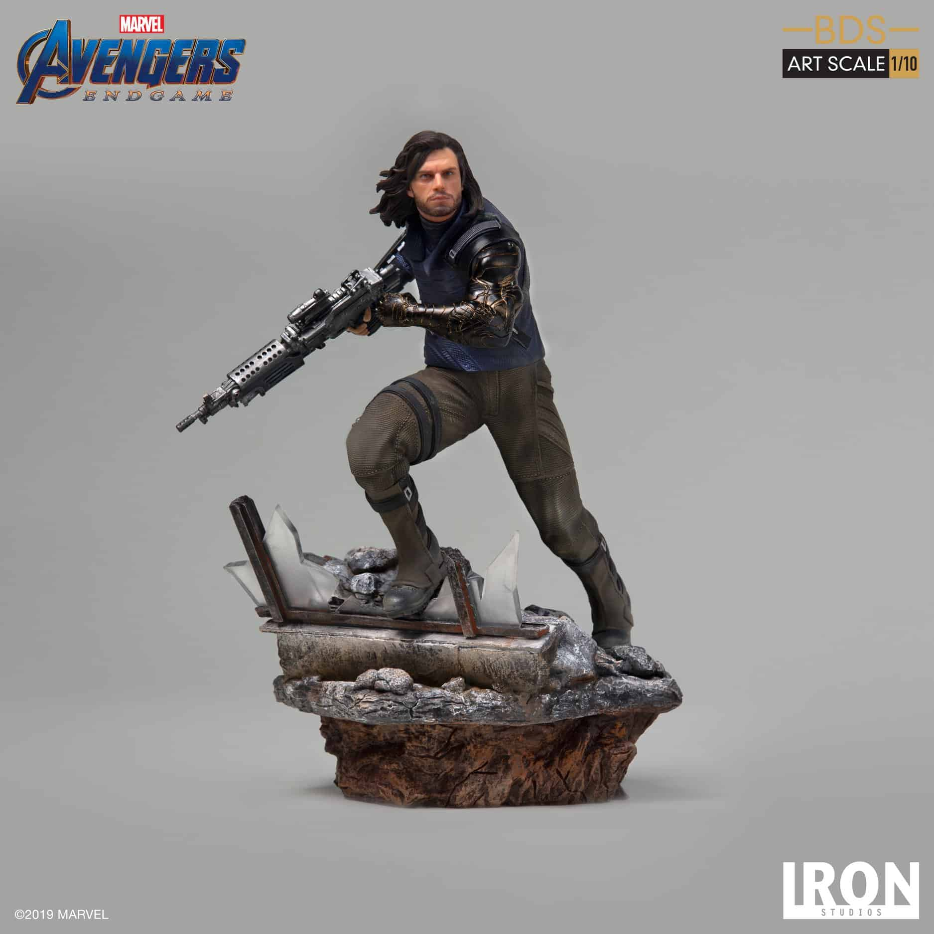 Iron Studio Winter Soldier BDS Art Scale 1/10 – Avengers: Endgame