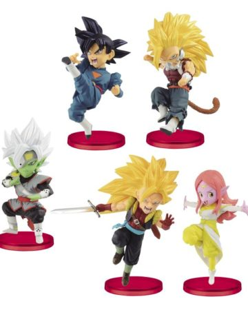 Super Dragonball Heroes WCF Vol 7 (Set of 5)