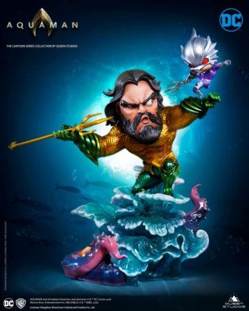 Queen Studio SD Cartoon Series Aquaman Statue