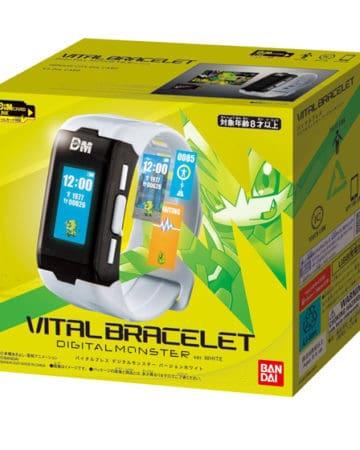 Bandai Mobile LCD Toy - Digital Monster Vital Bracelet Ver. White