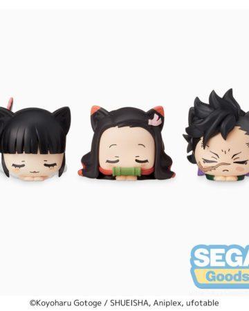 Sega Kimetsu No Yaiba Ohiruneko Mini Figure 2 (Set of 3)