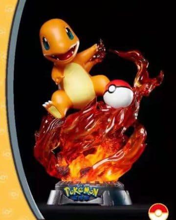 Unique Art Studio Pokemon Licensed Statue - Charmander